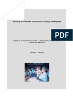 Kalikayatna- Annual Report 2006-07