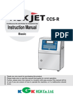 Ink-jet Printer TEC2702ZAC CCS-R Manual