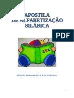 APOSTILA DE ALFABETIZAÇÃO SÍLABAS  VOL 1