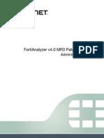 Fortianalyzer Admin 40 Mr3