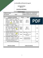 Listas de Cotejo 2013_a Calculo Integral