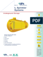Attenuation Sprinkler and Storage