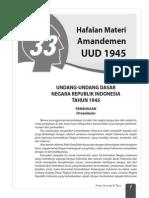 UUD 1945 AMANDEMEN REPUBLIK INDONESIA