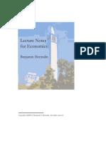 LectureNotes Economics