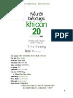 Neu Toi Biet Duoc Khi Con 20 - Tina Seelig [E-BOOK VTBT]
