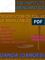 CASE STUDY OF RIVER GANGA
