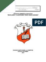 Proyecto Ambiental Colegio Santo Angel La Libertad 2014