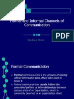 CHANNEL OF COMMUNICATIONl