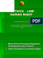 BIOETHICS – LAW – HUMAN RIGHT