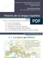 Historia Lengua Espanola 3 Tema 3 2013 2014cr