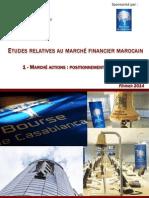 ETUDES RELATIVES AU MARCHÉ FINANCIER MAROCAIN