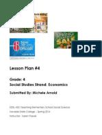 Edel453 Spring2014 MicheleArnold Lessonplan4