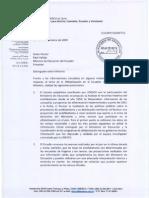 Carta de Edouard Matoko