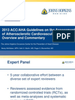 2013 ACC/AHA Guidelines on the Assessment of Atherosclerotic Cardiovascular Risk