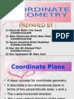 Presentation Math Coordinate Geometry