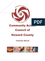 volunteer manual for cac
