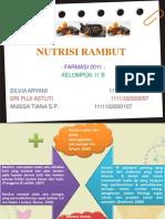Kosmetik - Nutrisi Rambut PPT