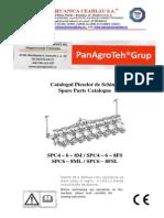 SPC kukoricavetőgép alkatrészkatalógus