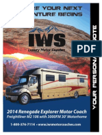 Renegade Explorer 3000FM IWS Motor Coaches