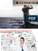 Marketing Management Ch 2