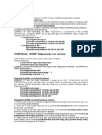 Resumen Configuracion EIGRP