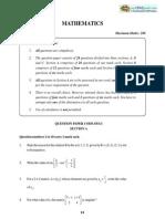 12th 2012 Maths Paper Full