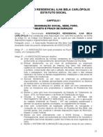 Estatuto Social - Associacao Residencial Ilha Bela - Carlopolis