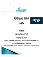 FESP - FUNDAÇ_ES RASAS - 2013 - 1ª AULA
