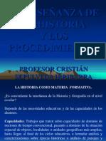 3. Presentacion Enseanza de La Historia y Los Procedimientos