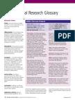 Cdisc 2009 Glossary