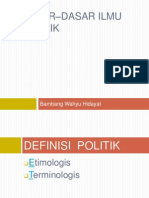 5 Dasar-Dasar Ilmu Politik