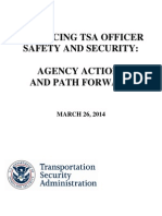 Enhancing Tsa Officer Safety and Security- Agency Actions and Path Forward