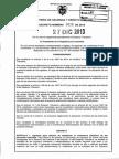 Decreto 3028 Del 27 de Diciembre de 2013