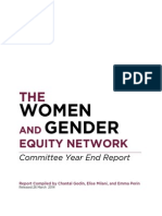 The Women and Gender Equity Network