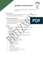 Analisis de Arsenico