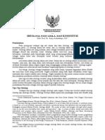 Ideologi Pancasila Dan Konstitusi