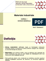 Notiuni Generale materiale industriale