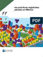 OCDE (2012) Mejores prácticas registrales y catastrales en México