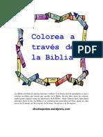 Colorea a través de la Biblia