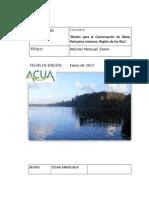 Conservaciones Los Rios Mensual