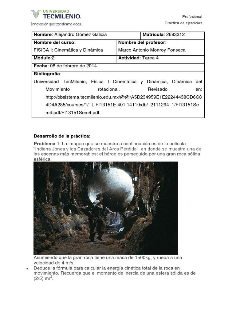 Tarea (4) Fisica