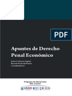 Apuntes Derecho Penal Economico 2012