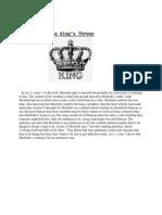 the kings thronemacbeth