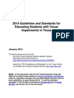 Educating Students With Vi Guidelines Standards