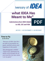 Idea Means to Me