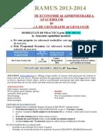 Anunt Erasmus FEAA-GEO Job Trust 24febr2014