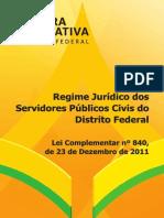 Regime Jurídico dos Servidores do DF