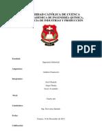 Estados Fiancieros y Plan de Cuentas