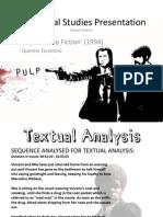 Pulp Fiction - Contextual Studies Presentation - Hamza Kaleem