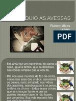 PINÓQUIO ÀS AVESSAS